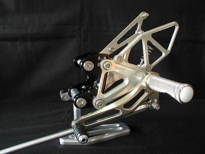 【WOODSTOCK】腳踏後移套件 (GSX-R1100 89-92用) - 「Webike-摩托百貨」