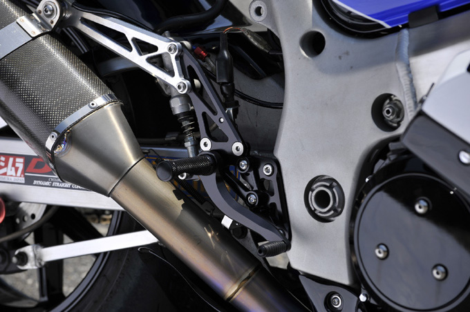 【WOODSTOCK】腳踏後移套件 GSX1300R 08用 - 「Webike-摩托百貨」