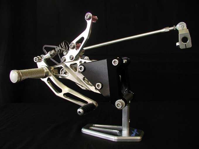 【WOODSTOCK】腳踏後移套件 YZF-R1 -01用 - 「Webike-摩托百貨」