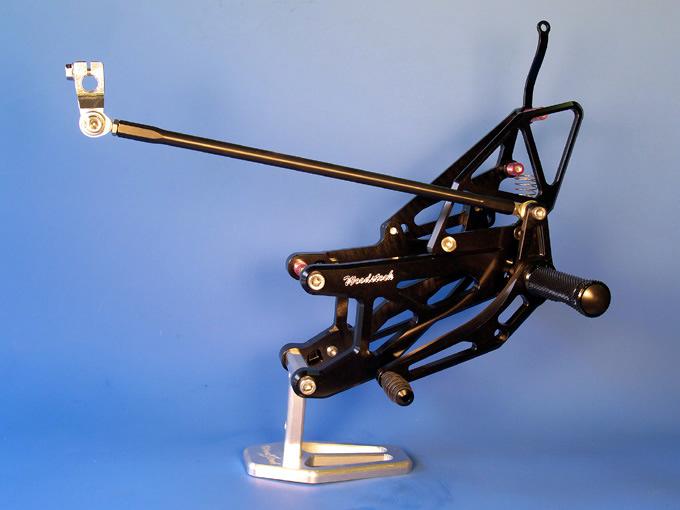 【WOODSTOCK】腳踏後移套件 YZF-R1 07-08用 - 「Webike-摩托百貨」