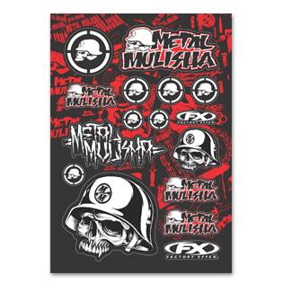 【FACTORY EFFEX】Metal Mulisha 貼紙套組 - 「Webike-摩托百貨」
