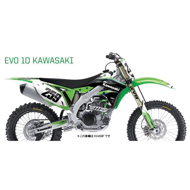 【FACTORY EFFEX】KAWASAKI EVO10系列車身貼紙 - 「Webike-摩托百貨」