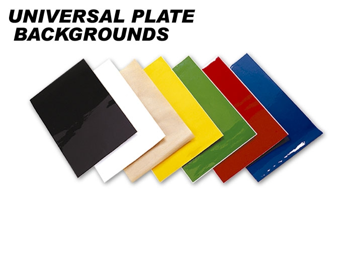 Universal Plate Backgrounds FACTORY EFFEX