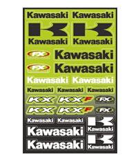 【FACTORY EFFEX】競賽貼紙套件 - 「Webike-摩托百貨」