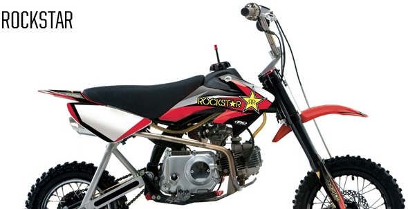 【FACTORY EFFEX】Pit racer CRF50F ROCKSTAR車身貼紙 - 「Webike-摩托百貨」