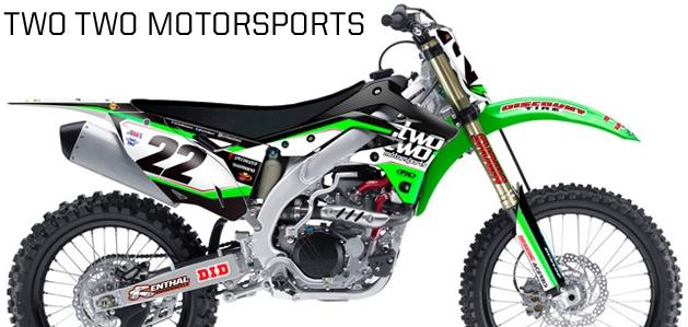 【FACTORY EFFEX】TWOTWO MOTORSPORTS TEAM車身貼紙 - 「Webike-摩托百貨」