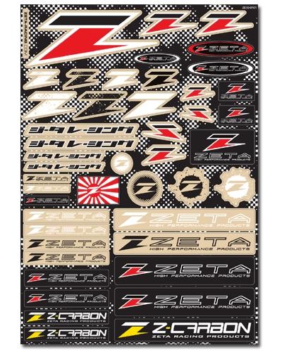 【ZETA】ZETA 貼紙套組 - 「Webike-摩托百貨」
