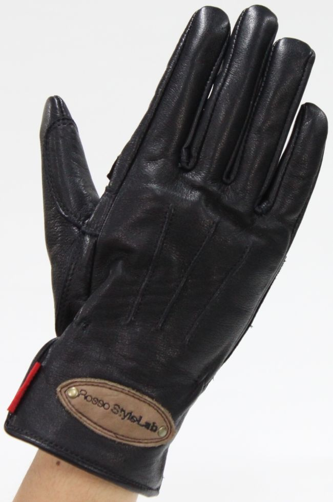 【Rosso StyleLab】復古皮革手套 - 「Webike-摩托百貨」