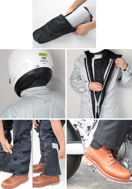 【ROUGH&ROAD】Dual tex3層雨衣 - 「Webike-摩托百貨」