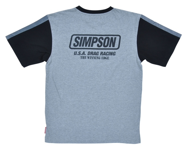 【SIMPSON】T恤 白色/藍色 - 「Webike-摩托百貨」