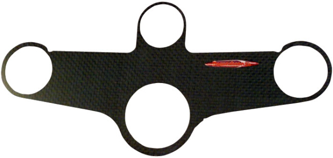 【ODAX】碳纖維三角台保護貼片 - 「Webike-摩托百貨」
