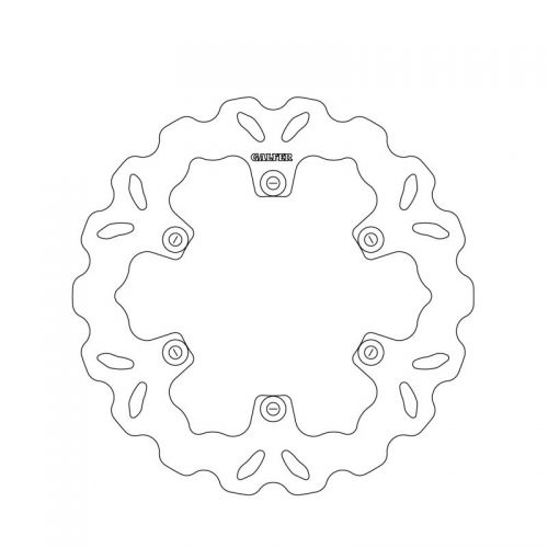 【GALFER】浪花型煞車碟盤 - 「Webike-摩托百貨」