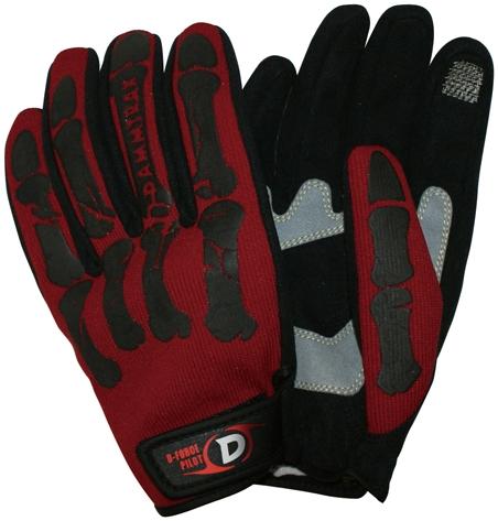 【DAMMFLAPPER】D-Force 手套 - 「Webike-摩托百貨」