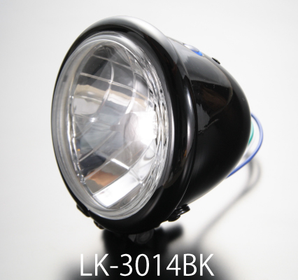 【LUKE】Bates 晶鑽型頭燈 4.5 吋 - 「Webike-摩托百貨」
