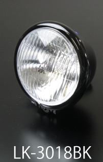 【LUKE】Bates 頭燈 4.5 吋 - 「Webike-摩托百貨」