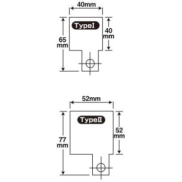 【CF POSH】通用型不銹鋼支架 (TYPE I) - 「Webike-摩托百貨」