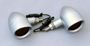 【CF POSH】Brim Type 方向燈 Satellite 電鍍 - 「Webike-摩托百貨」