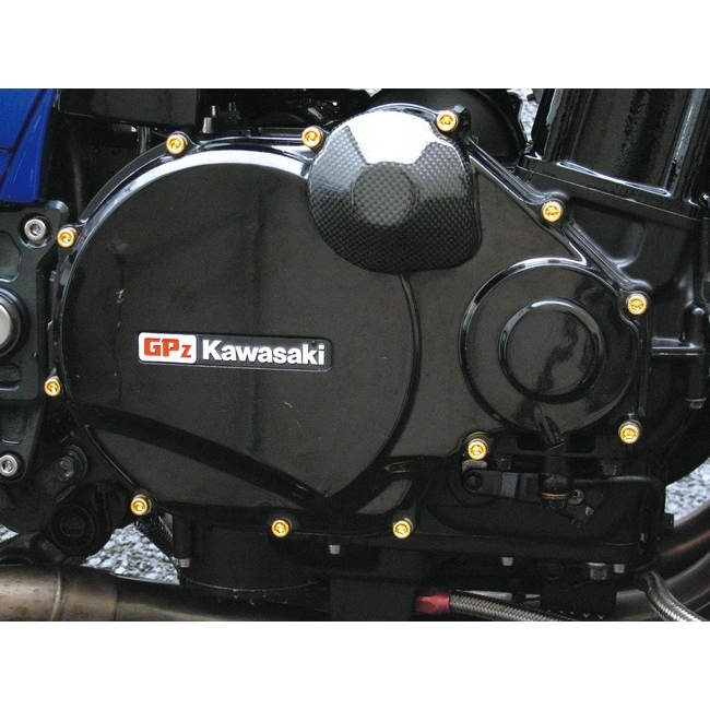 【CF POSH】24K鍍金 不銹鋼拾波線圈蓋螺絲組 - 「Webike-摩托百貨」