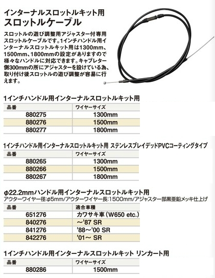 【CF POSH】內藏式油門套件用 油門線 - 「Webike-摩托百貨」
