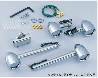 【CF POSH】Bar Type 螺絲固定型方向燈套件 - 「Webike-摩托百貨」