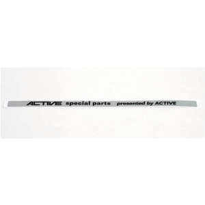 Metal Sticker for Sub Frame ACTIVE