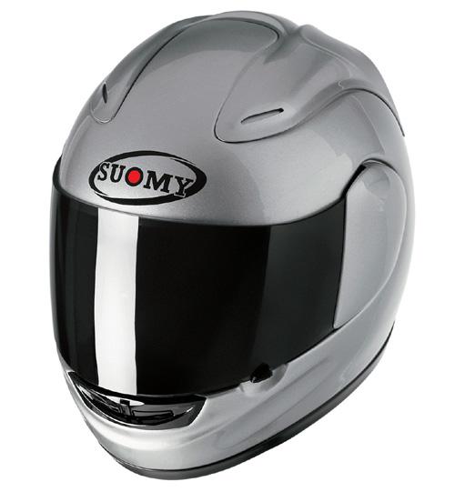 【SUOMY】SPEC-1R Solid silver安全帽 - 「Webike-摩托百貨」