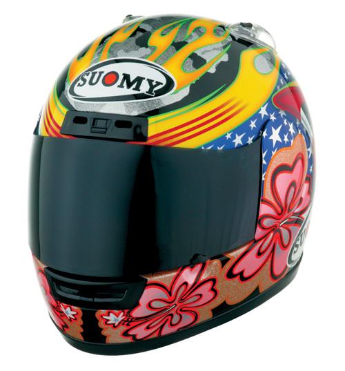 【SUOMY】Explorer-Gold XP-Hawaiian 安全帽 - 「Webike-摩托百貨」