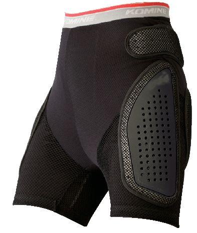 【KOMINE】SK-611 護具型網格內穿褲(短版) - 「Webike-摩托百貨」