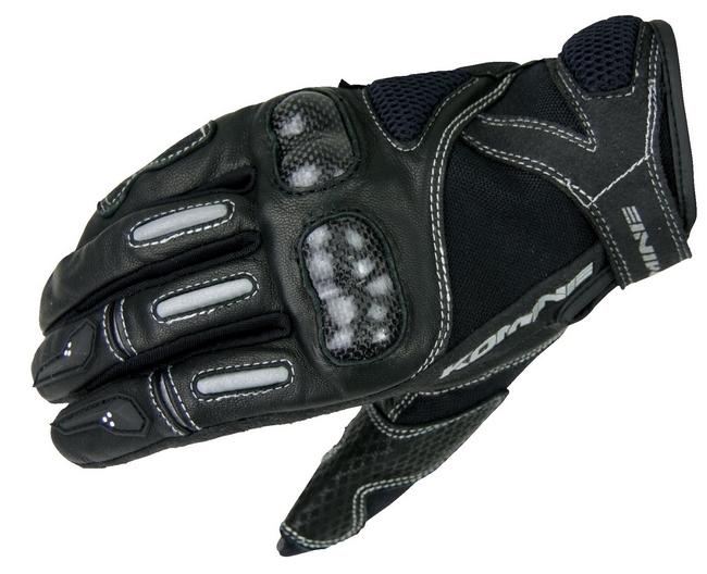 【KOMINE】GK-124 Carbon 皮革製 手套-Faruche - 「Webike-摩托百貨」