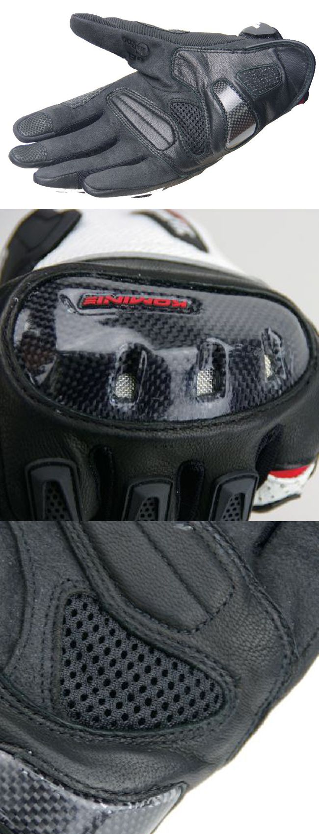 【KOMINE】GK-143 超合身碳纖維網格手套 Delos - 「Webike-摩托百貨」