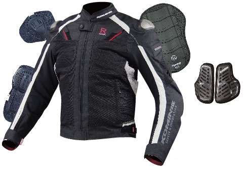 JK-063 Titanium Mesh Jacket R Spec.