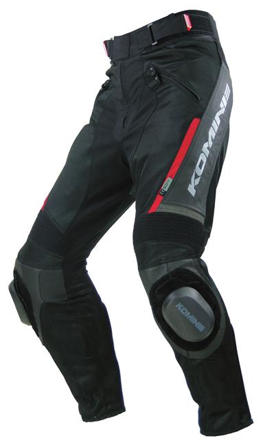 PK-717 Sports Riding Leather Mesh Pants
