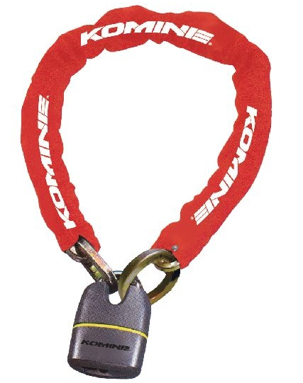 LK-111 Square Chain Pad Lock KOMINE
