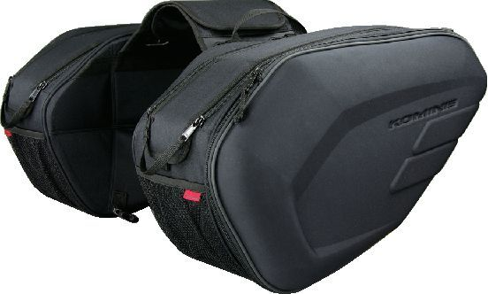 SA-212 Molded Saddle Bag EXP KOMINE
