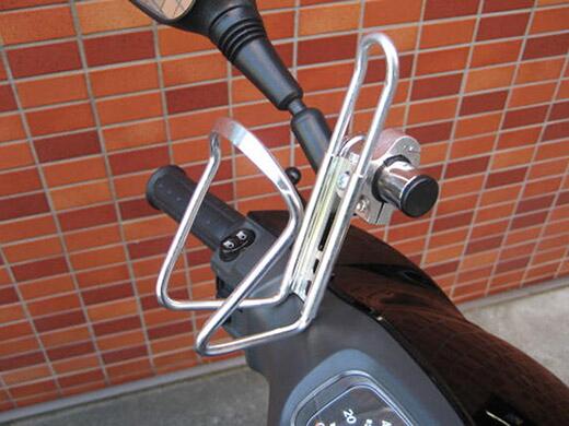【M-SOUL】22Φ電鍍支架桿(附鋁合金墊圈) - 「Webike-摩托百貨」
