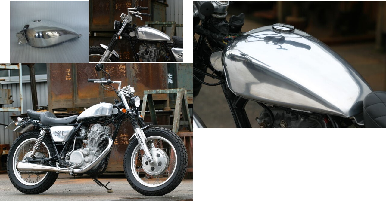 【BIG CEDAR】Chop 鋁合金油箱 - 「Webike-摩托百貨」