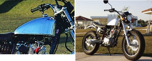 【BIG CEDAR】T-4 鋁合金油箱 - 「Webike-摩托百貨」