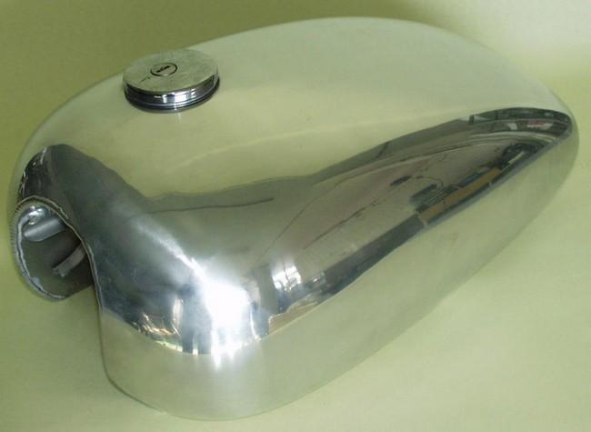 【BIG CEDAR】Long Peanut 鋁合金油箱 - 「Webike-摩托百貨」
