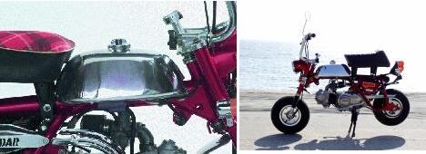 【BIG CEDAR】鋁合金油箱 Type-A (M・A・Z型) - 「Webike-摩托百貨」