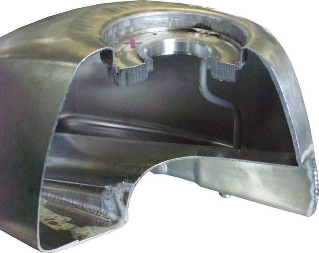 【BIG CEDAR】Airplane 鋁合金油箱 - 「Webike-摩托百貨」