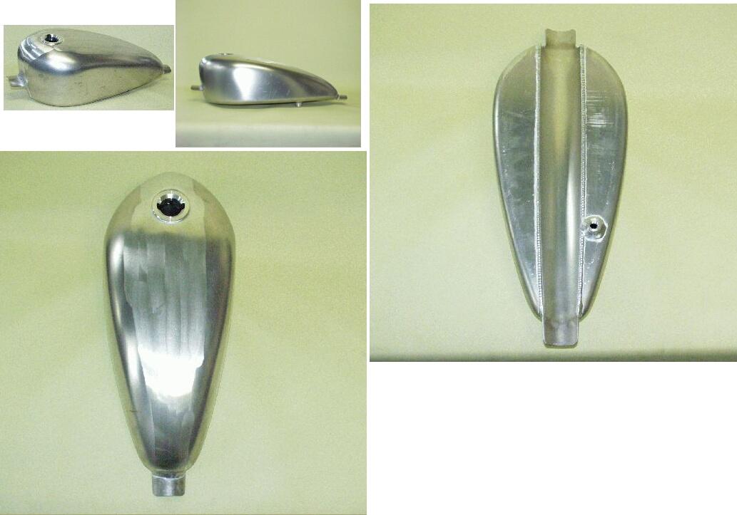 【BIG CEDAR】Narrow T-2 鋁合金油箱 - 「Webike-摩托百貨」