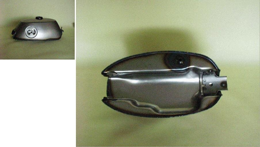 【BIG CEDAR】Type-ST-A 角型 油箱 (油箱蓋部外溶接) - 「Webike-摩托百貨」