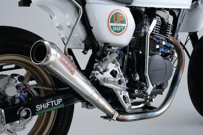 【SHIFT UP】MOTO GP 不銹鋼全段排氣管 - 「Webike-摩托百貨」