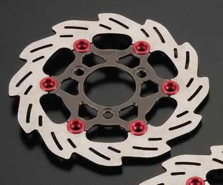 【SHIFT UP】220mm 浮動式浪花碟盤 - 「Webike-摩托百貨」