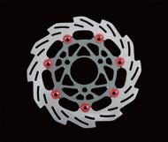 【SHIFT UP】240mm 浮動式浪花碟盤 - 「Webike-摩托百貨」