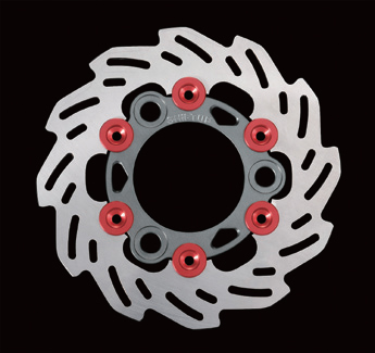 【SHIFT UP】160mm 浮動式浪花碟盤 - 「Webike-摩托百貨」