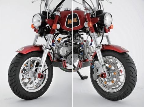 【SHIFT UP】長搖臂及GALE SPEED 後輪框/後煞車套件 - 「Webike-摩托百貨」