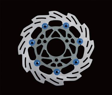 【SHIFT UP】260mm 浮動式浪花碟盤 - 「Webike-摩托百貨」