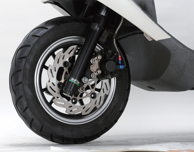 【SHIFT UP】220mm 碟盤用煞車卡鉗座 - 「Webike-摩托百貨」