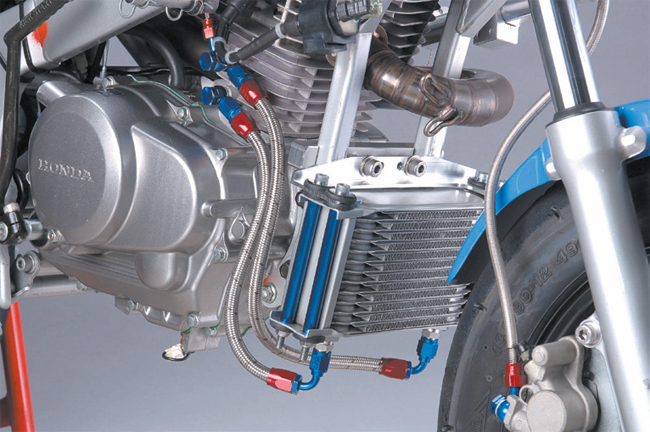 【SHIFT UP】#4 EARLS 機油冷卻器套件 (13排) - 「Webike-摩托百貨」
